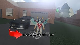 YENİ MUSTANG'İM - accelerate V4 ALPHA (ROBLOX)