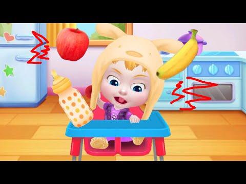 Играем в игру мультик для девочек: ухаживаем за Беби Босс/Вредная малышка не хочет есть/Зырики ТВ
