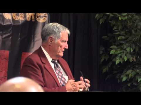 Coach Gene Stallings at FCA Banquet (Columbia, SC) - Part 1