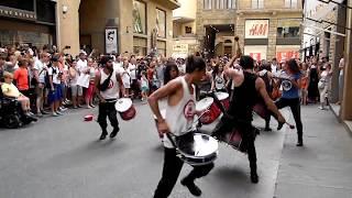 Супер-музыканты у площади Синьории