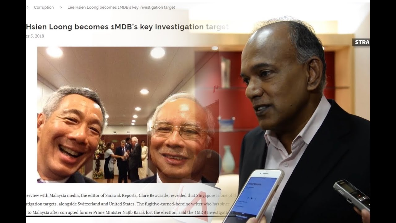S'pore minister rebuts States Times Review article implicating its leaders  in 1MDB scandal