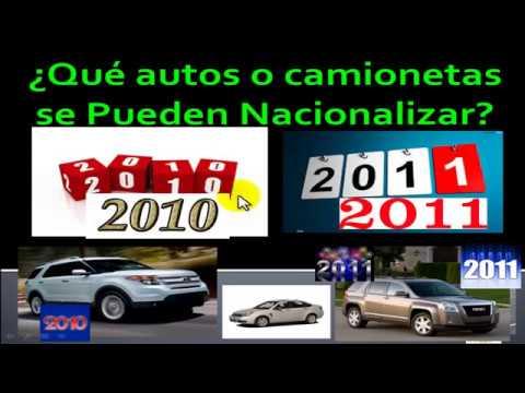 legalizar autos americanos costo 2020