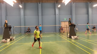 2019 U17 City of Torrents individuals Justin Lim VS Rayne Wang