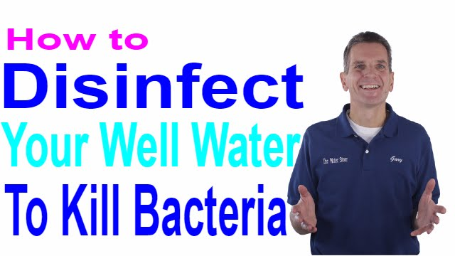 how to get clean well water