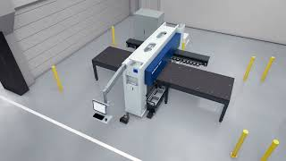 TRUMPF Stanzen: Die Maschine TruPunch 1000 - Kompakt, vielseitig, leistungsstark
