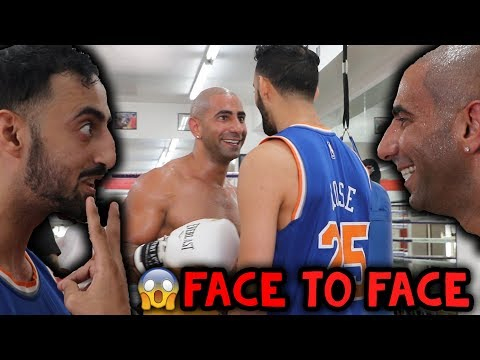 Face To Face With My Opponent | Slim VS Fousey