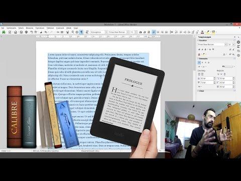 Ebook szerkesztése ingyenes eszközökkel – Tutorial