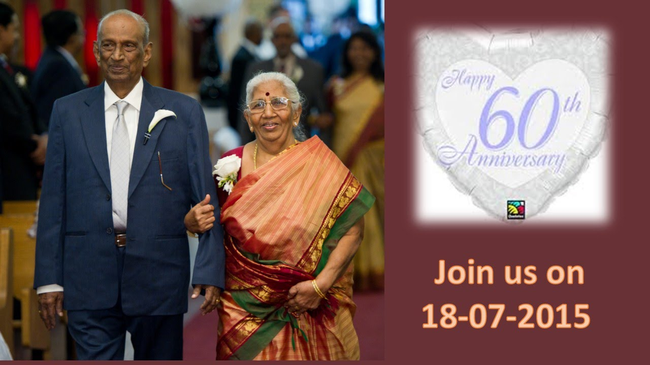 TAMIL CHRISTIAN DEVOTIONAL SONG ( 60th WEDDING ANNIVERSARY ...