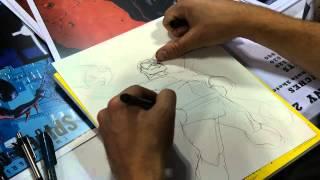 Ryan Stegman Five Minute Sketch of Doctor Octopus
