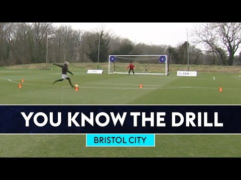 Three Gate Shooting Challenge! | Bristol City | You Know The FIFA Drill