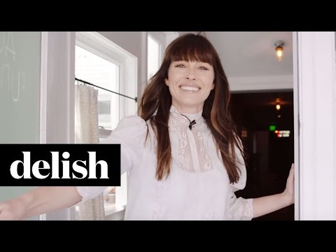 Check Out The Inside Of Jessica Biel's Un-Fudging Believable Restaurant | Celebrity Tours | Delish