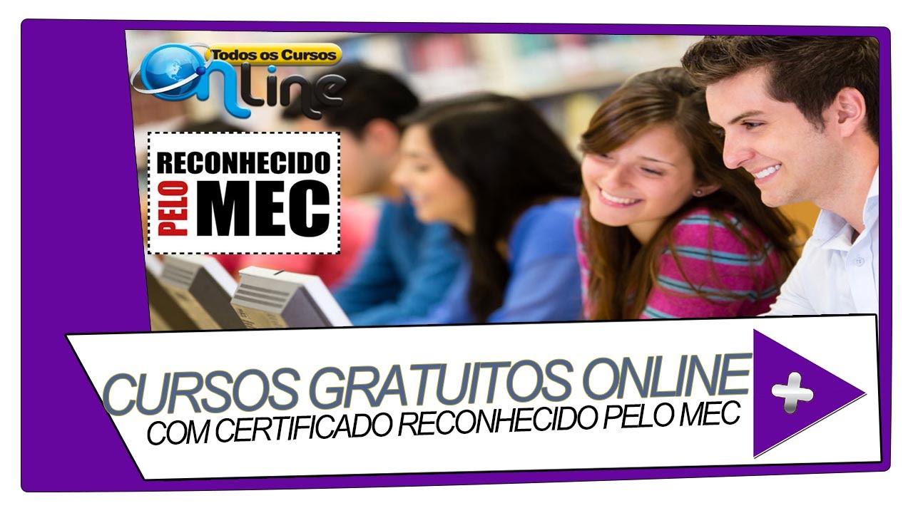 Cursos Gratuitos Online Com Certificado Youtube