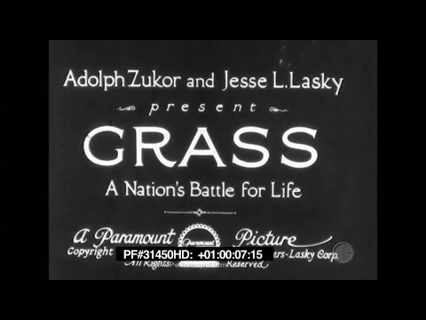 Grass: A Nation's Battle for Life 1925 Bakhtiari tribe of Persia 31450 HD