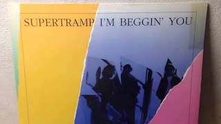 "Supertramp ‎– I'm Beggin' You (Straight Pass) 12"" Vinyl 1987"