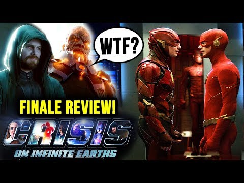 WTF...DC Actually Did THAT?! - Crisis on Infinite Earths FINALE Review