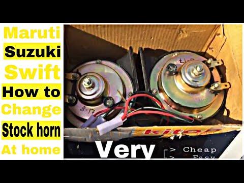 swift horn change |DIY|