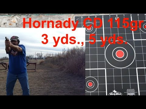Ruger EC9s Accuracy Test and Range Report!