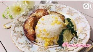 Рыба запечённая в духовке с рисом