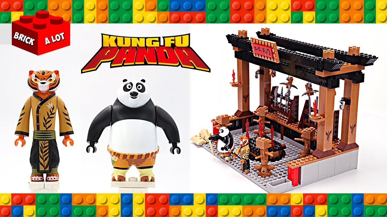 Lego Kung Fu Panda 3 Training Room W Po Amp Tigress