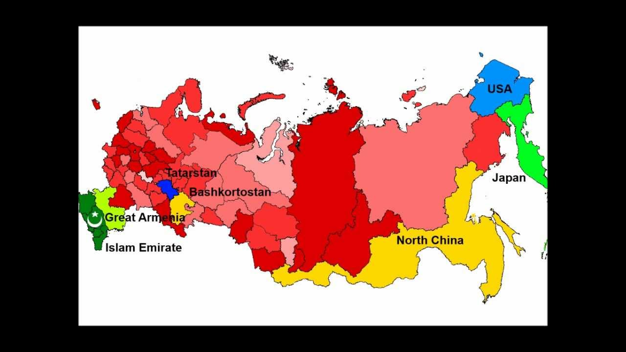 Future Map Of Russia In 2050 Youtube