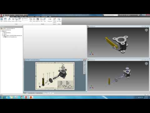 IPJ BUTTERFLY VALVE CAD 3D PROJECT