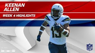 Keenan Allen's 138-Yd Day vs. Philadelphia | Eagles vs. Chargers | Wk 4 Player Highlights
