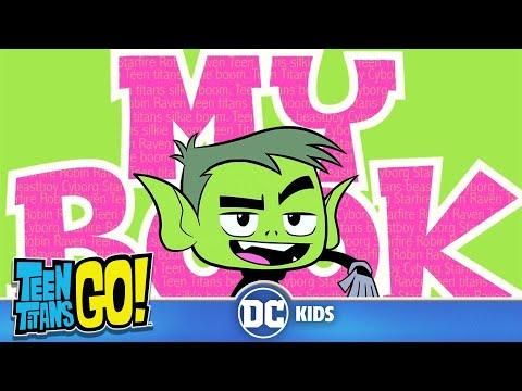 Teen Titans Go! KARAOKE   My Book   DC Kids