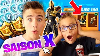 I BUY ALL THE SAISON COMBAT PASSE X - Fortnite Season 10 Battle Royale - Neo The One