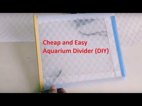 DIY Aquarium Divider/Fish Tank Divider DIY Less Than $2