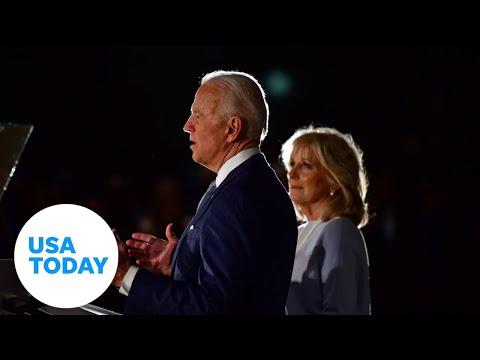 Joe Biden and Jill Biden visit Kenosha | USA TODAY