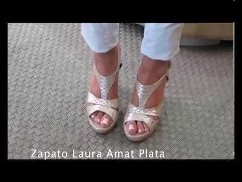 Zapato Zapato Laura Zapato Youtube Amat Laura Plata Amat Youtube Plata SX4rn71X