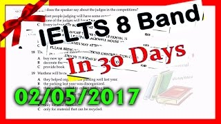 ielts listening practice test 2017 with Answers