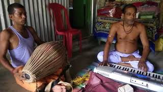 on piano Ke anilo re, kothai chhilo re, ai modhumakha horinaam on piano