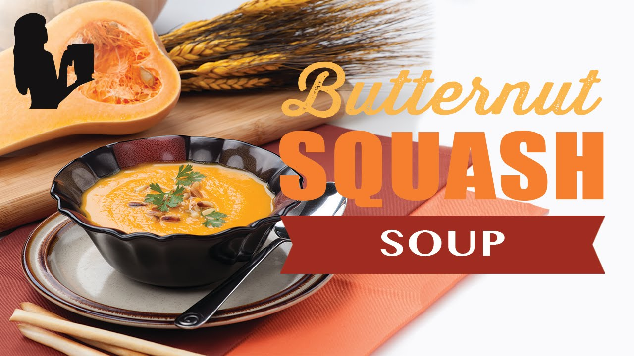 How to make butternut squash soup in a blender