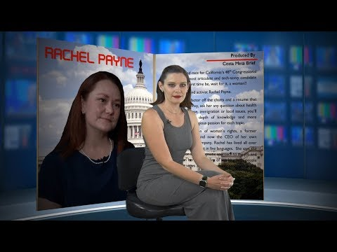 Rachel Payne – Candidate for Congress CA 48th District 2018