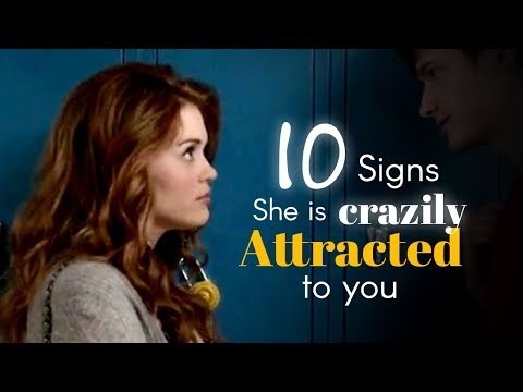10 Signs She's Attracted to You (Body Language)