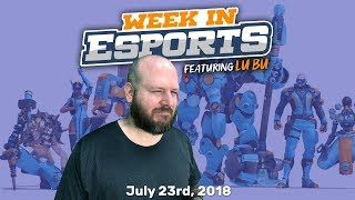 Week in Esports 7.23.18 on NA LCS, OWL Philly v London, Keemstar and Fortnite Cheaters.