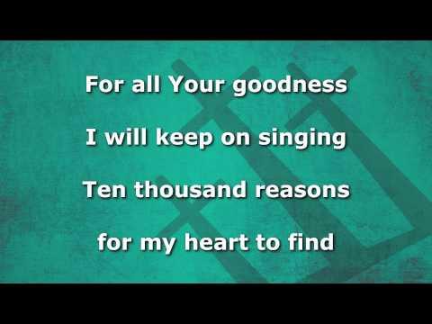 10,000-reasons-instrumental