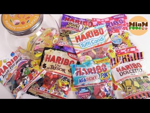 [BONBON] NOUVEAUX BONBONS HARIBO - Miam Fooding unboxing Haribo Candies