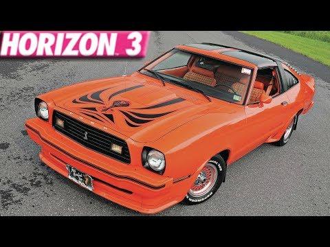 Forza Horizon 3 : 275+ MPH Ford Mustang King Cobra Build