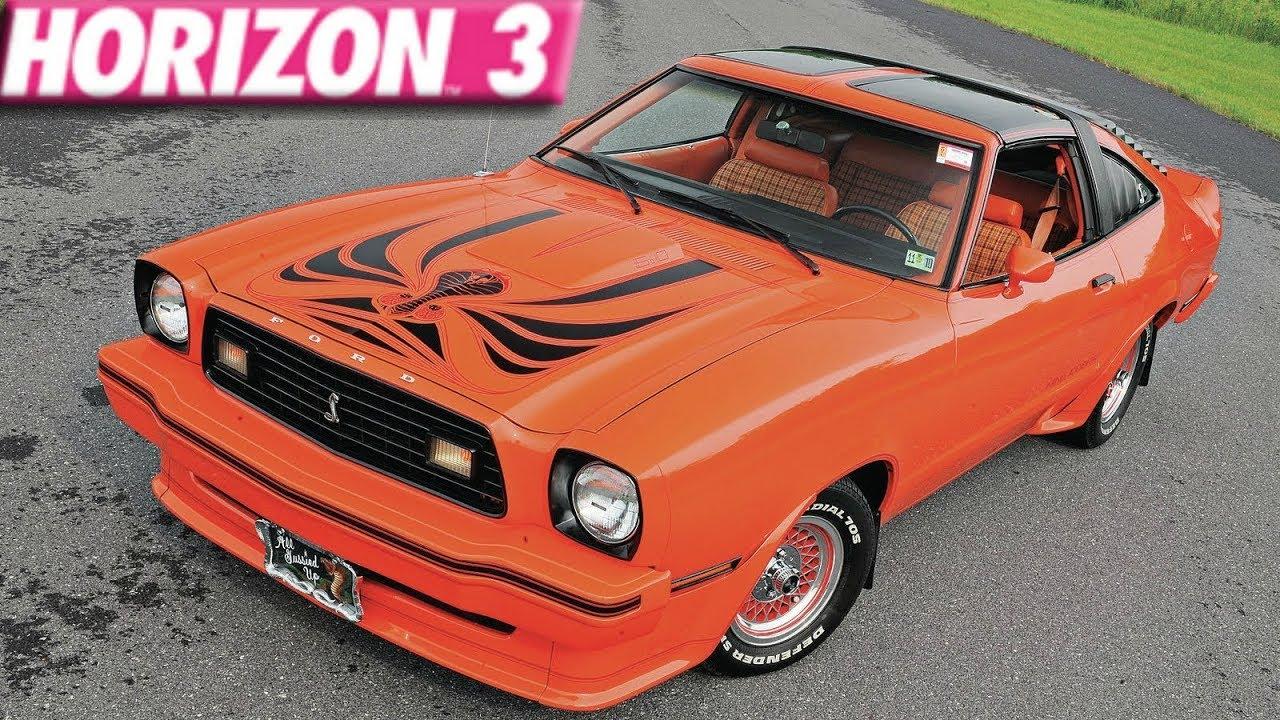 Forza horizon 3 275 mph ford mustang king cobra build
