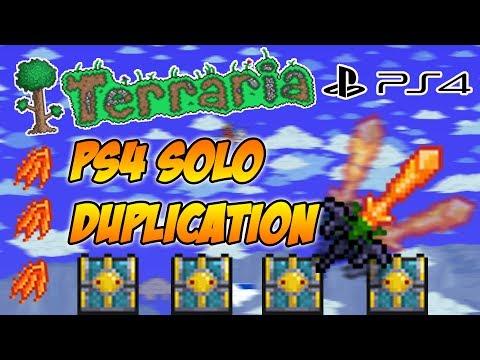 Terraria Ps4 Solo Duplication Glitch