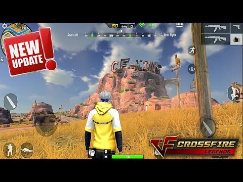 NEW! *Desert Map* Crossfire Legends Gameplay (Android) HD