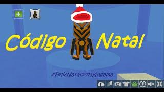 Codigo de natal no KoGaMa! 2015