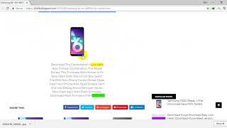 Samsung A6+ SM A605FN Frp Unlock Combination File U2