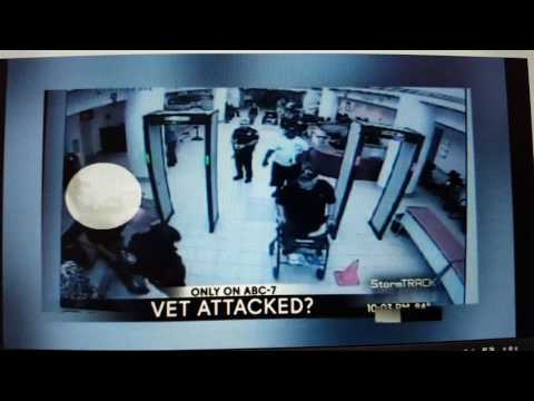 Vietnam Veteran attacked by Security Guards at the El Paso VA