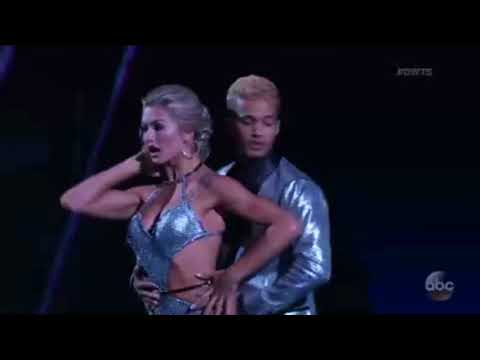 (HD) Jordan Fisher and Lindsay Arnold Tango - Dancing With the Stars Premiere