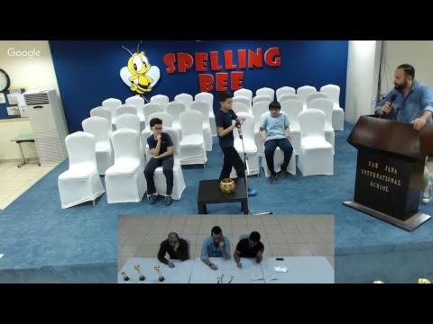 DJIS Spelling Bee Grade 5