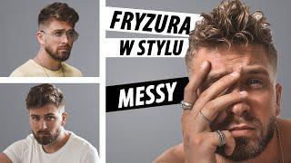 MESSY BAD HAIR DAY. Męska potargana fryzura - Jak układać włosy w stylu MESSY HAIR