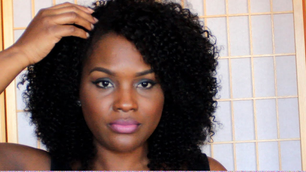 Moisture Rain Indian Remy Jerry Curl Wet and Wavy Review - YouTube
